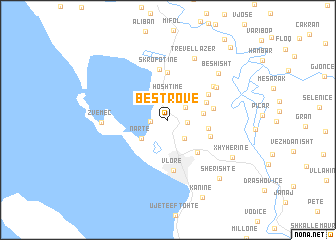 map of Bestrovë