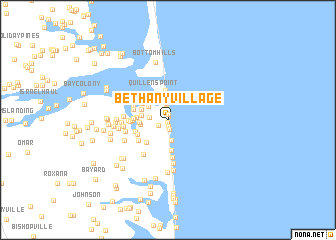 map of Bethany Village
