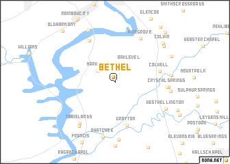 Bethel United States USA map nonanet