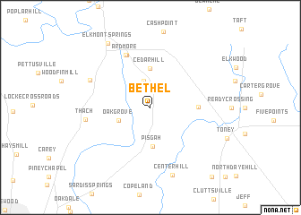 map of Bethel