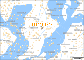 map of Bet Nabi Shāh