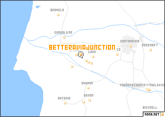 map of Betteravia Junction