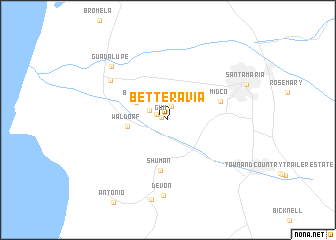 map of Betteravia