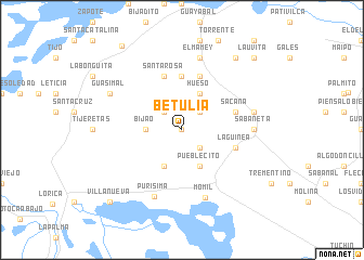 map of Betulia