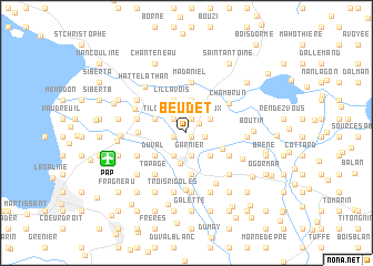 map of Beudet