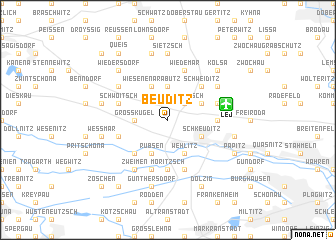 map of Beuditz