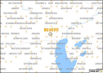map of Beuern
