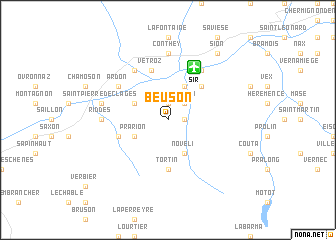 map of Beuson