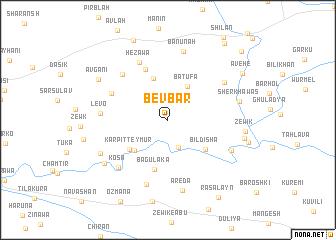 map of Bevbar