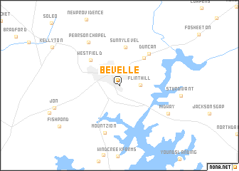 map of Bevelle