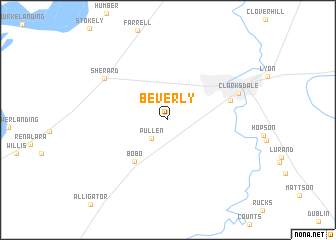 map of Beverly