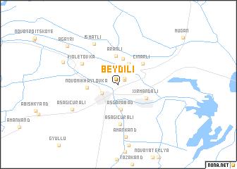 map of Beydili