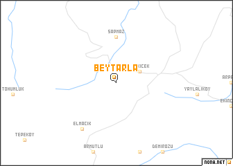 map of Beytarla