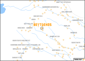 map of Beyt Dehās