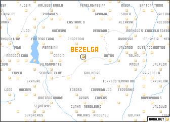 map of Bezelga