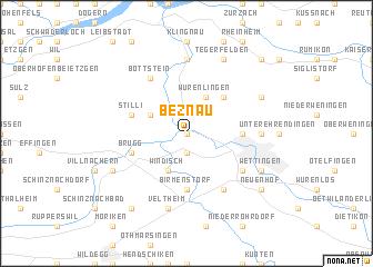 map of Beznau
