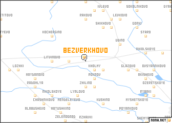 map of Bezverkhovo