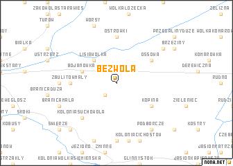 map of Bezwola