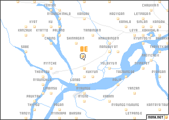 map of Be