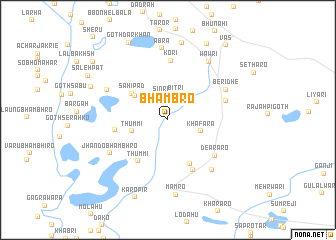 map of Bhambro