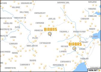map of Biabas