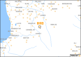 map of Biao