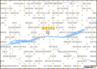 map of Biberg