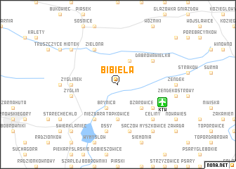 map of Bibiela