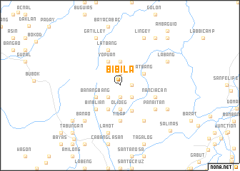 map of Bibila