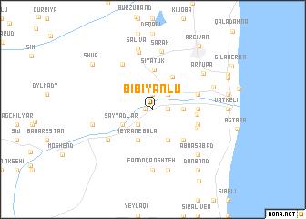 map of Bībī Yānlū