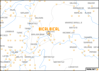 map of Bicalbical