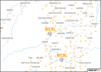map of Bical