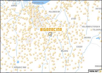 map of Bidaracina