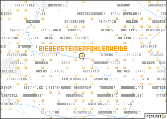 map of Biebersteiner Fohlenweide