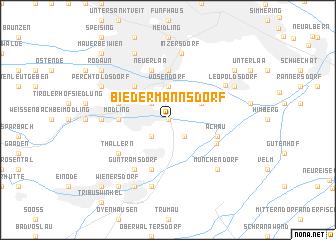 map of Biedermannsdorf