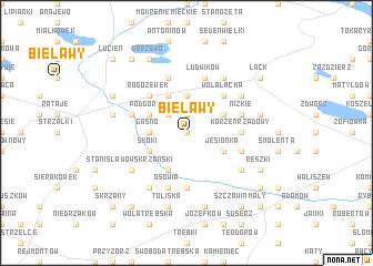 map of Bielawy