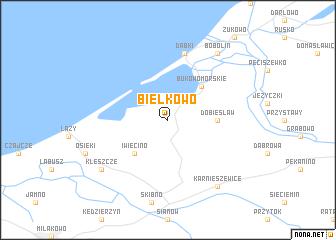 map of Bielkowo