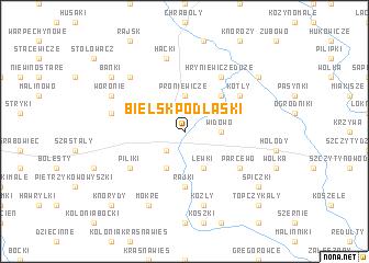 map of Bielsk Podlaski