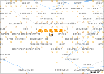 map of Bierbaumdorf