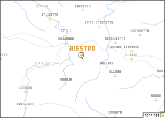 map of Biestro