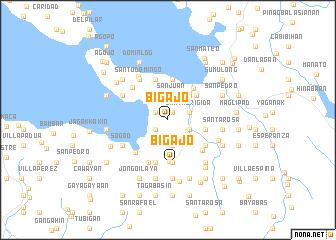 map of Bigajo