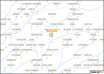 map of Bigwe