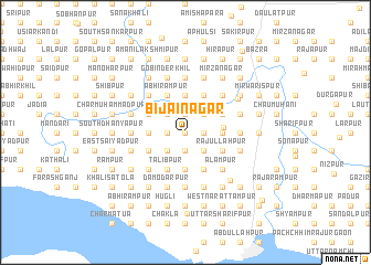 map of Bijainagar