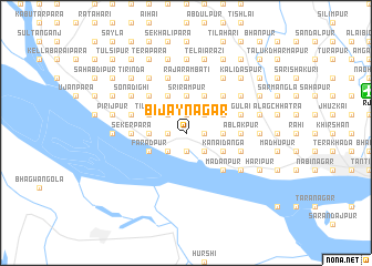 map of Bijaynagar