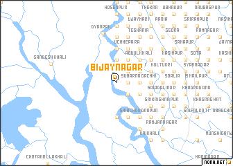 map of Bijaynagar