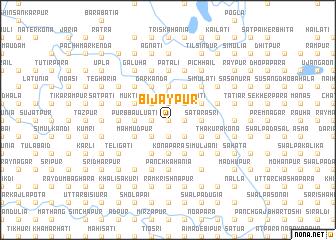 map of Bijaypur