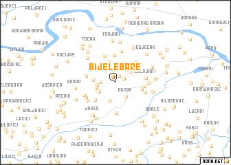 map of Bijele Bare