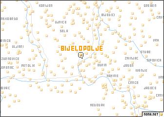 map of Bijelo Polje