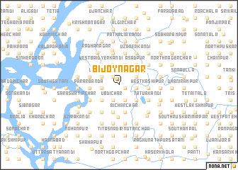 map of Bijoynagar