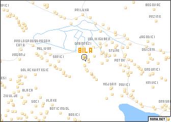 map of Bila